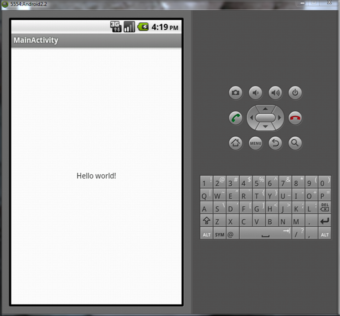 android-hellow-world-program-in-emulator