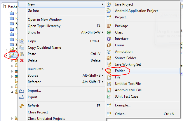 eclipse-crete-new-folder
